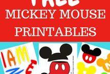 Mickey Printables