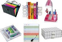 Dorm Room Life Hacks / Little things that make dorm life easier and more organized.