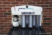 Survival Gear / Equipment for generating power from solar once the grid goes down during a emergency or survival situation.  / by Portable Solar Power Biz