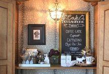COFFEE /COCOA /TEA  BAR  IDEAS