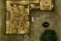 Fantasy RPG - maps