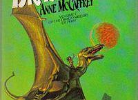 Anne McCaffrey Books / by Catherine Prendeville