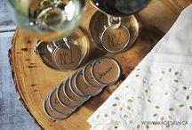 Wine glas tags