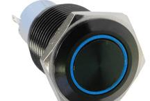 DimasTech® Push-Buttons Black 19mm