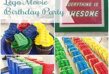 Grayson's Lego Movie Themed Birthday Party