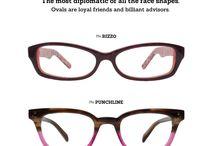 очки овал