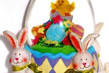 Easter Parade / http://stores.ebay.com/JEWELRY-AND-GIFTS-BY-ALICE-AND-ANN  beautiful eggs and Bunnies - everything for EASTER