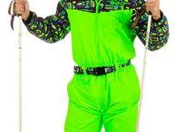 ski suit 80's II.