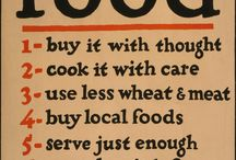 Vintage Food and gardening posters
