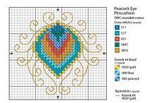 Cross Stitch Peacock Charts