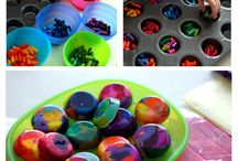 Crafts recycled objects