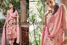Georgette Parties / Step out in parties with the latest Georgette EthnicSets from BlueKurta. Crafted with exquisite embroidery and paired with matching pants, these sets will make you feel like stars. Hop at http://www.bluekurta.com/index.php?route=product/search&filter_name=WESd611090