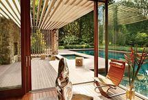 Piscine poolhouse