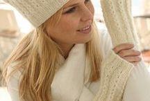 knitting winter fashion