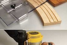 Router bits and pieces