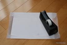 printing on tissue paper / by Sue Olson Elliott
