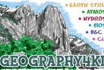Geography Activities for Kids and Teens / Geography learning activities for children and teens.