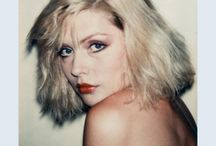 Debbie Harry by Andy Warhol / Polaroids of Debbie Harry by Andy Warhol