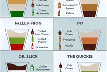Layered drinks