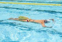 Nadaremos...nadaremos, amo nadar... / Nadar es parte de mi. / by Flavia Serrano