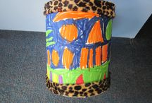 Jungle Drums / Year 2 make their own African drums