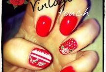 Vintage nails /  nails