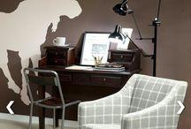 Biurko, Stolik, stół. Desk, table.