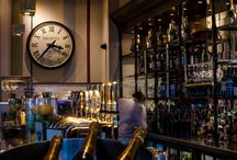 Elegant Interior Clocks / Its impossible to imagine a world without time.  An interior clock, feature clock or creative clock can tick in the hearts of visitors, diners, or guests long after their experience is finished.