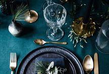 Inspiration: Tischdekoration / Inspirationen für schöne & stilvolle Tischdekorationen für den edlen Tisch