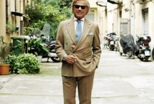 LINO IELUZZI / Owner of Al BAZAR # boutique in Milano # He is one of the Best Representative of Italian Elegance