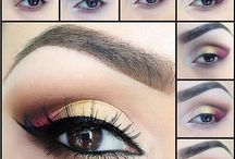 Eyeshadow Styles / Know the different eye shadow  style you will make.