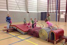 Gym / Gym ideeën voor de basisschool