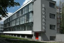 """Bauhaus Movement  / Bauhaus (help·info), commonly known simply as Bauhaus, was a school in Germany that combined crafts and the fine arts, and was famous for the approach to design that it publicized and taught. It operated from 1919 to 1933. At that time the German term  Bauhaus, literally """"house of construction"""" (help·info) stood for """"School of Building""""."""