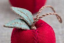 Apple ornament for Xmas tree