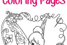 Colouring In Pages & Web Links