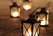 Romantic Lanterns and Candlelight