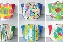Tejer con bolsas de plastico