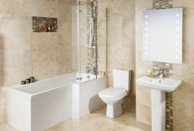 Dream Bathroom / My dream bathroom featuring BigBathroomShop.co.uk and TileMountain.co.uk #MyDreamBathroom
