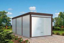 Garaże blaszane / Garaże blaszane. http://www.pro-arte.pl/projekty-garazy-blaszanych/