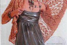 Circulares crochet / Chaquetas, blusas, tops / by Martha Salazar