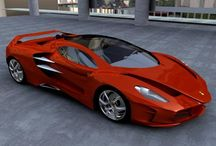 Cool cars / Super cars and concept cars