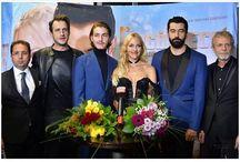 Boran Kuzum with cast of Cingoz Recai / Boran Kuzum with cast of Cingoz Recai, in Berlin.