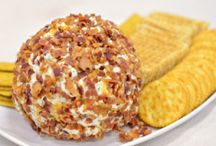 Food:  Cheese Balls / by Cindy Mingle