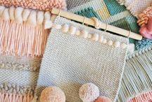 Weaving // Frame Loom + Tapestry