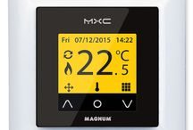Thermostats / MAGNUM Thermostats are supplied including (floor) sensors and can be situated virtually anywhere. From a simple on/off thermostat and an advanced digital clock thermostat, through to a wireless version with receiver.