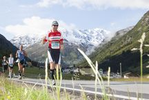 Gletschermarathon / Der Gletschermarathon vom Pitztaler Gletscher nach Imst - durch das gesamte Pitztal - ist ein außergewöhnliches Sportereignis. Die Schönheit der Pitztaler Berge bietet eine besondere Kulisse für Höchstleistungen im Laufsport.  / by Pitztal Tirol