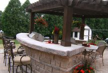 Outdoor Kitchens / by Kelly Dubyne {Distinctive Interior Designs}