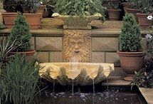 Fountains & Statuary / who doesn't love the sound of a gentle fountain?