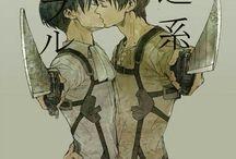 Levi&Eren(Attack on Titan)