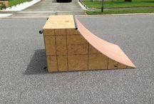 Skateboard fun.
